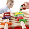 Wholesale Interesting Pretend Play Toy Set BBQ Wooden Cutting Vegetables Toy Barbecue for Children