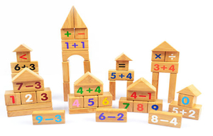 Bamboo Construction Building blocks toy
