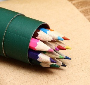 Wooden Color Pencil (GR-00118)
