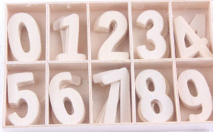 Wooden Number, Educational Aids, Teaching Aids