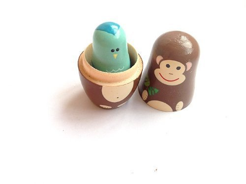 Wooden crafts custom nesting doll toys