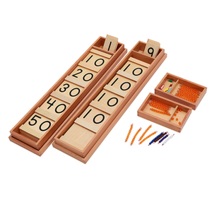 montessori educational math toys