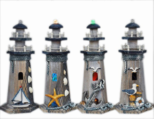 Decoration Wooden Lighthouse