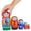 Kids Russian Matryoshka nesting dolls