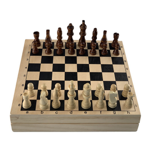 Foldable Custom Wood Chess Games