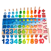 Montessori Multifunction Counting Board Wooden Toys
