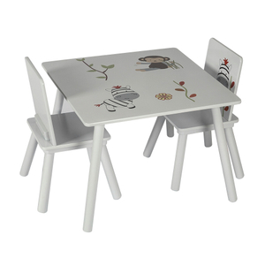 Children Furniture Wooden Desk And Chair Set