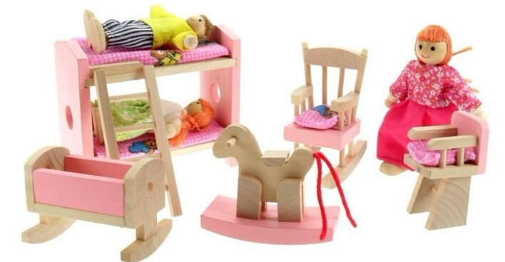Kids Wood Furniture Toys