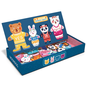 Educational Magnetic Puzzle Toy