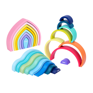 Rainbow Stacker Wooden Toy