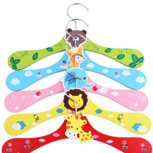 Kids Wooden Clothes Hanger
