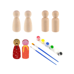 Diy Wooden Peg Dolls Toys
