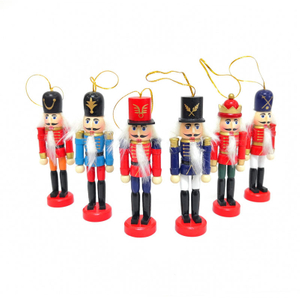 Wooden Nutcracker Doll Soldier