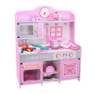 European-style wood kitchen toys