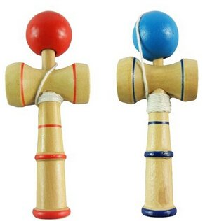Japanese Traditional Wooden Kendama Ball Toy