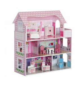 Diy Kids Wooden Doll House