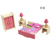 Wooden Miniature Doll House Furniture Toy