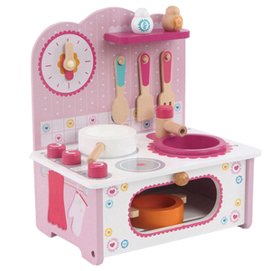 Kids pretend kitchen cooking game toy