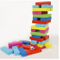 Color Jenga Games, Wooden Kids Educational Toys