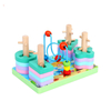 wooden Tower shape building block toy