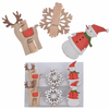Christmas Wooden Pegs Paper Clips