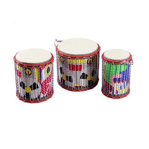 kids instruments wooden drums