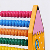 Custom Wooden Educational Abacus Math Toys