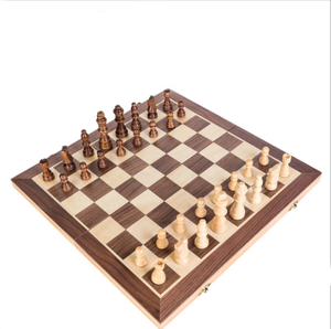 International Multifunction Wooden Floding Chess Board