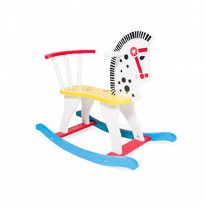 Baby Wooden Rocking Horse Toy