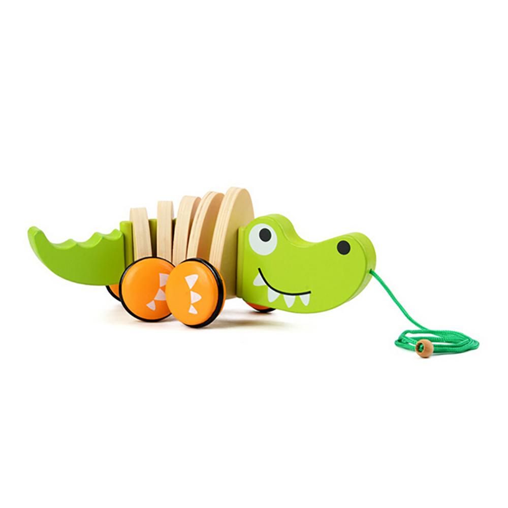 Wooden Animal Push Pull Along Toy