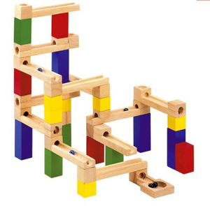 DIY Wooden Marble Run Toys