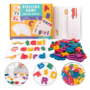 Kids letter Matching Learning Toys