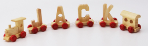 Wooden Letter Train Toys