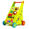 Educational Wooden Baby Activity Walker