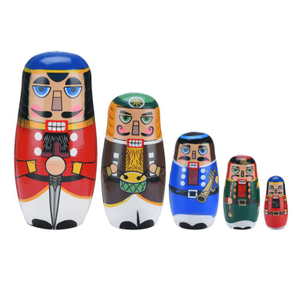DIY Russian Wooden Nesting Dolls