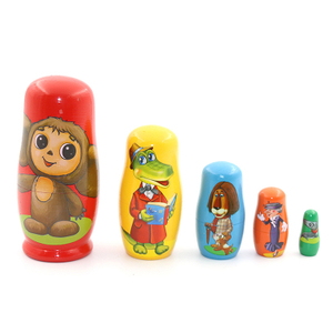 Classic Style Wooden Nesting Doll