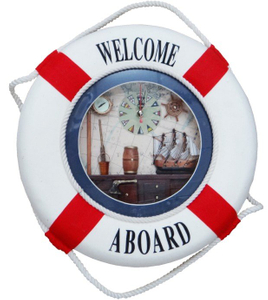 New Decorative Life Buoy with Clock